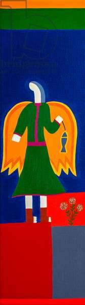 Saint Raphäel Archangel,2019 (oil on linen)