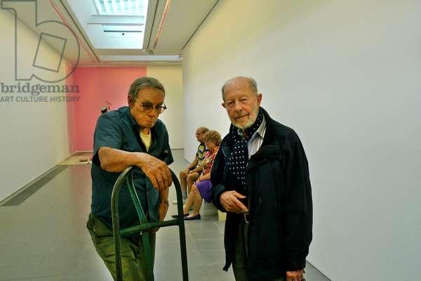Nicolas Roeg at the Serpentine Sackler Gallery, 2015 (photo)