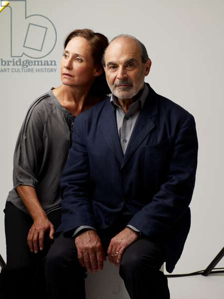 David Suchet and Laurie Metcalf