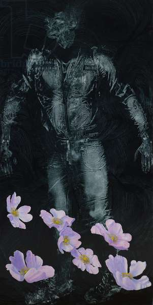 Fall: Dogrose 2, 2008 (oil on linen)