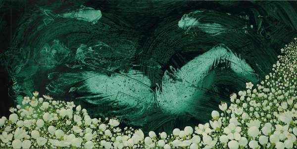 Fall: Elder, 2008 (oil on linen)