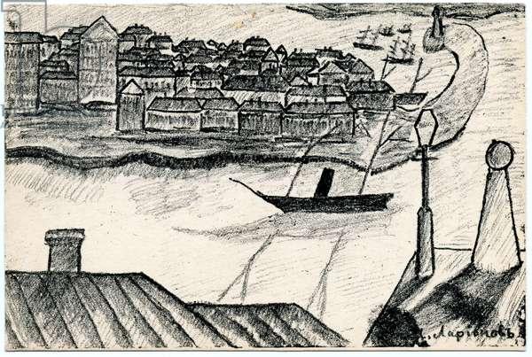 Port, 1912 (litho)