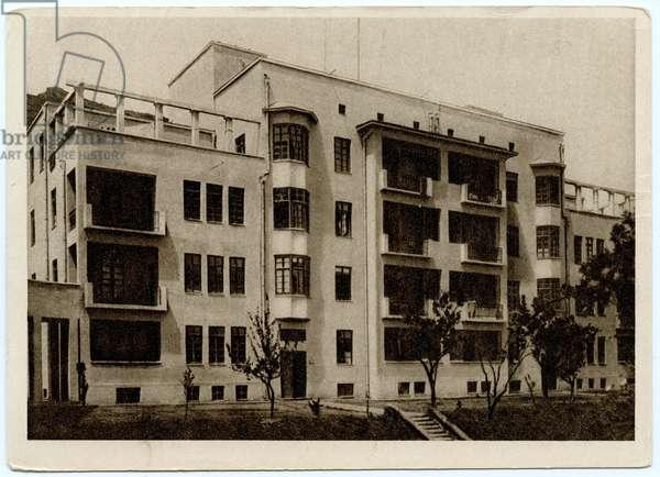 The New Tuberculosis Institute in Tbilisi, 1931