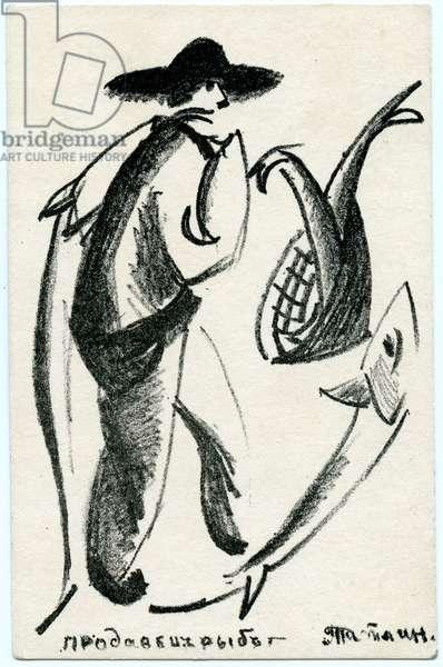 Fish Seller, c.1912