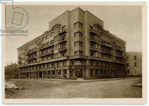 Housing Unit for Employees of the Foreign Affairs Commissariat and the Commissariat of Trade, Moscow, 1930