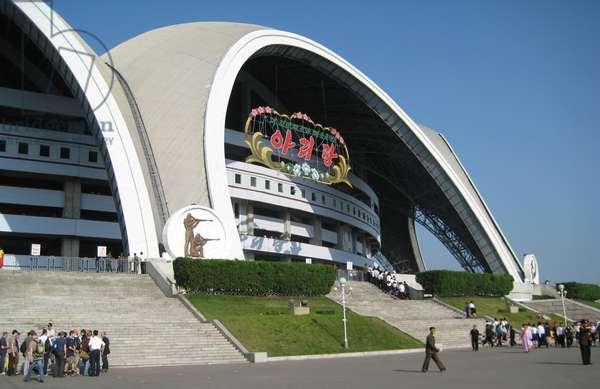 Rungrado 1st May Stadium in Pyongyang, North Korea, 2008 (photo)
