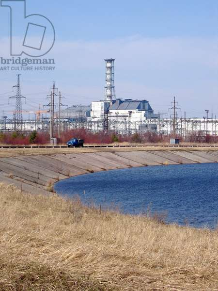 Reactor No. 4 at the Chernobyl Nuclear Power Station, 2006 (photo)