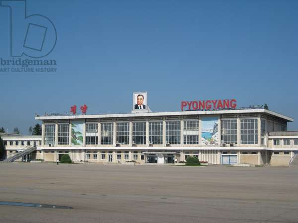 Pyongyang Airport, 2008 (photo)