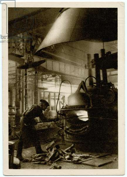 A New Electric Furnace for Steel at the 'Dinamo' Factory in Moscow, 1931