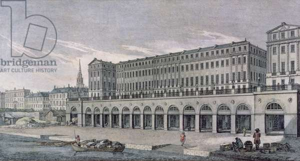 The Buildings called the Adelphi, London, 1771 (engraving)