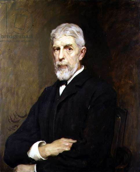Portrait of Sir Henry Trueman Wood, Secretary and Vice-President of the Society, 1902 (oil on canvas)