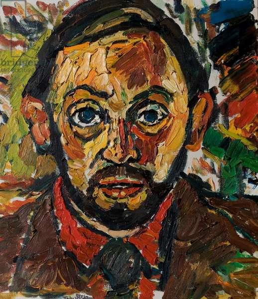 Richard Pasco, 1977 (oil on canvas)