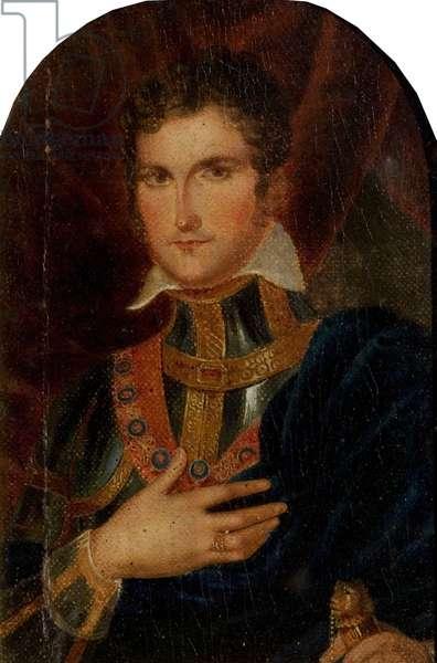 John Philip Kemble (oil on canvas on panel)