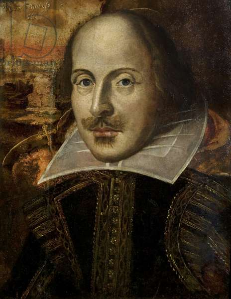 The Flower Portrait of William Shakespeare, c.1820-40 (oil on panel)