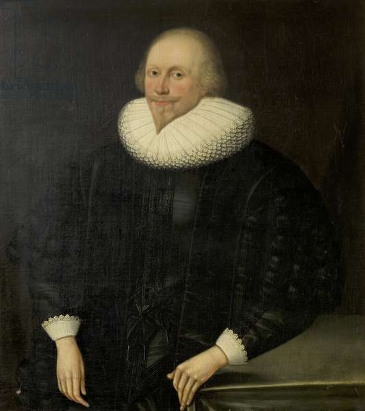 Portrait of an Unknown Man, c.1610 (oil on canvas)