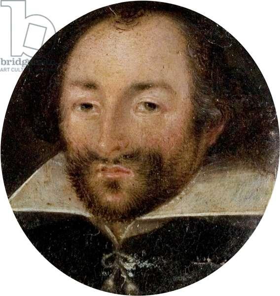 The Henry Graves Portrait of William Shakespeare, c.1600 (oil on copper)
