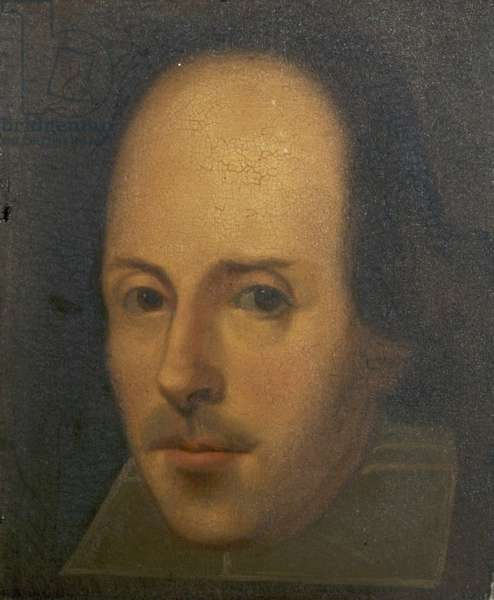 The Napier Portrait of William Shakespeare, 1792 (oil on panel)