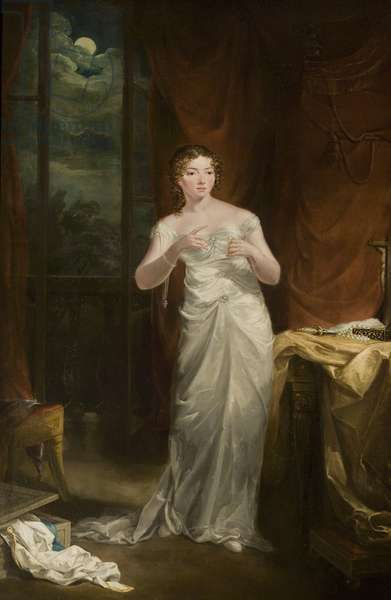 Sally Booth as Juliet, c.1820 (oil on canvas)