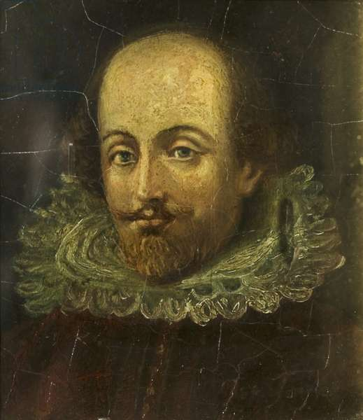 William Shakespeare (oil on panel)