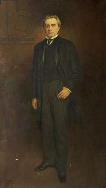 Edwin Booth (oil on canvas)