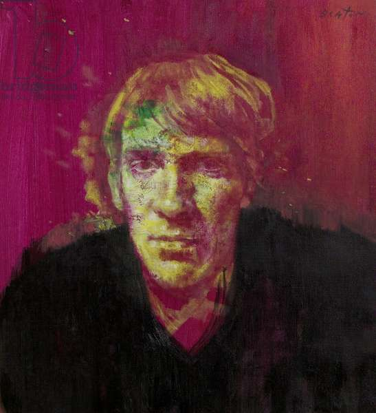 The Actor (David Warner), 1964 (oil on canvas)
