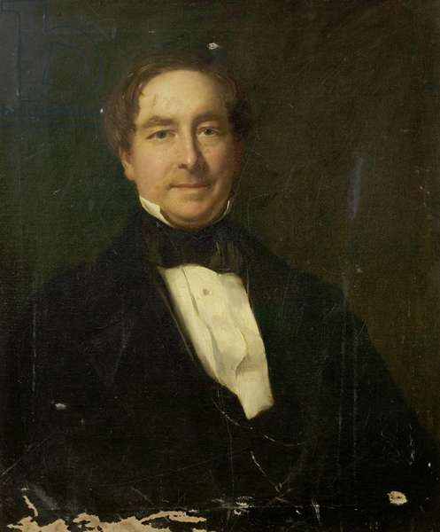 Henry Graves (oil on canvas)