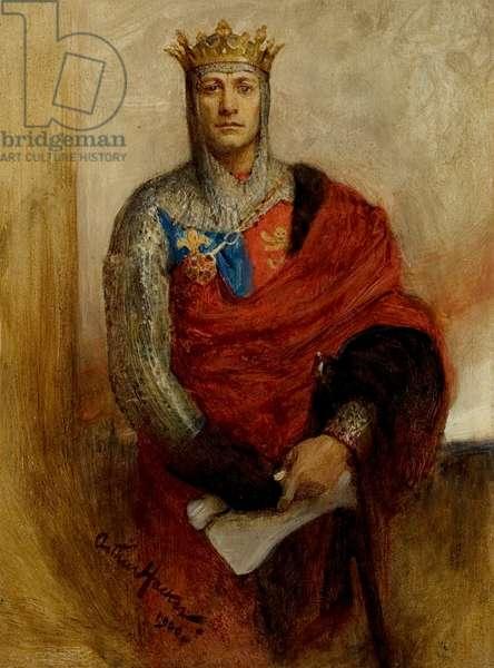 Lewis Waller as Henry V, 1900 (oil on board)