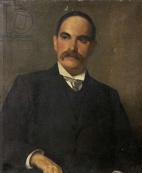 Sir Sidney Lee, 1906 (oil on canvas)
