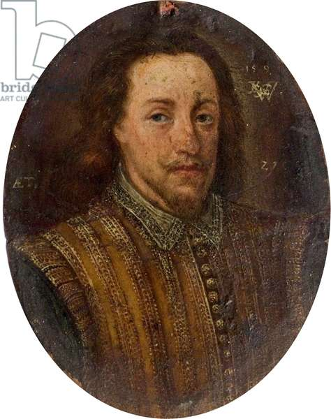 Portrait of an Unknown Man, c.1590 (oil on copper)