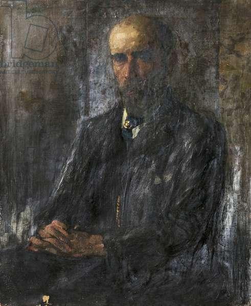 Professor A. C. Bradley, 1907 (oil on canvas)