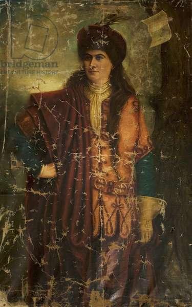 Hildegarde Jenicke as Rosalind, c.1900 (oil on canvas)