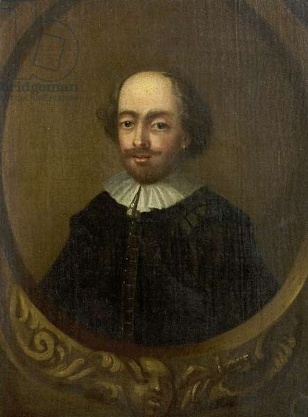 The Tonson Portrait of William Shakespeare, c.1735 (oil on canvas)