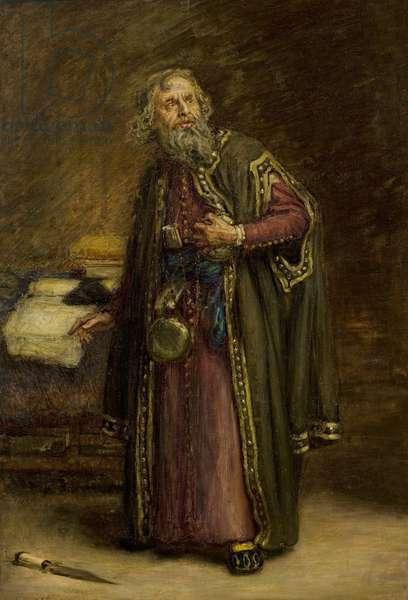 Henry Urwick, as Shylock (oil on canvas)