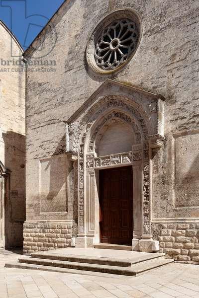 altamura, bari, puglia, italy, church of san nicola dei greci