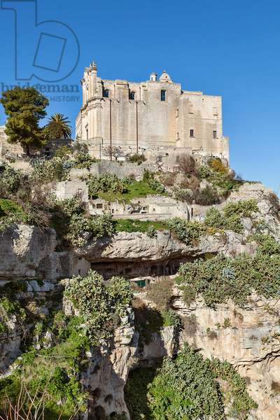 view of the Church of Sant'Agostino, MATERA