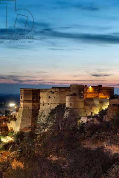 Massafra, Taranto, Apulia, Italy, The castle overlooking the Gravina di San Marco, 10th century (photo)