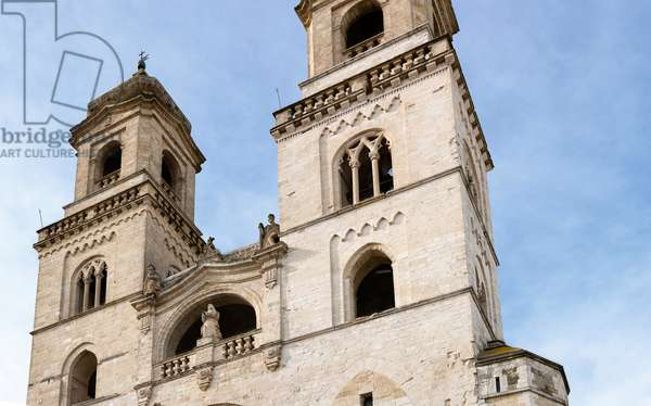 Altamura, Bari, Puglia, Italy, The Cathedral of Santa Maria Assunta, exterior