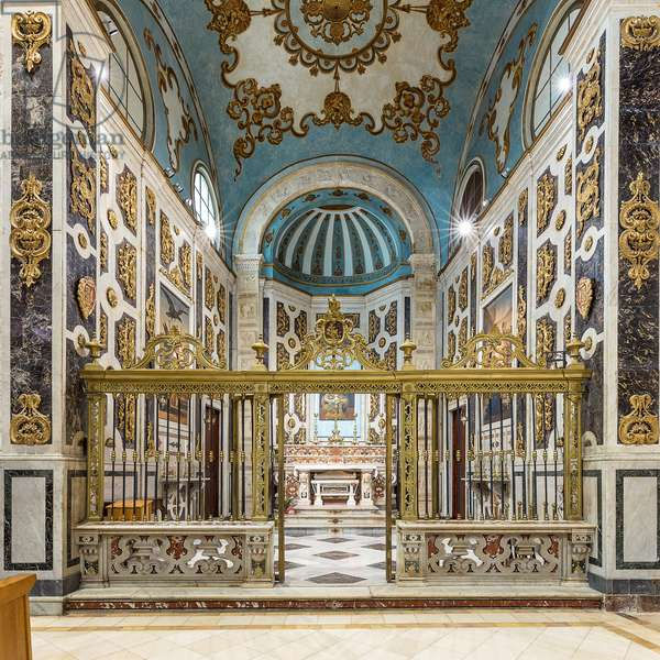 Andria, Puglia, Italy, The Cathedral of Mary Most Holy Assumption in Heaven, Chapel of San Riccardo