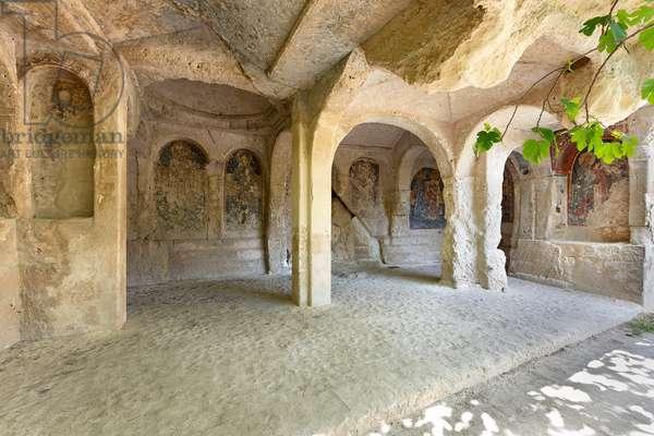 Massafra, Taranto, Apulia, Italy, The Rock Church of the Candelora (photo)