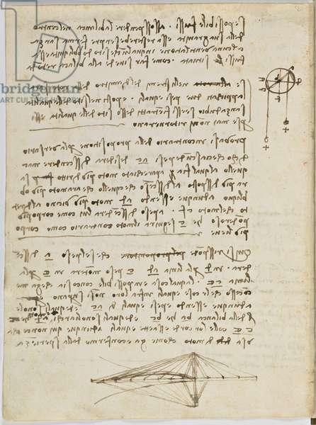 Birds Flight Code, c. 1505-06, paper manuscript, cc. 18, sheet 2 to