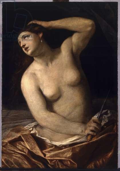 Death of Lucretia, 1632-38 (oil on canvas)