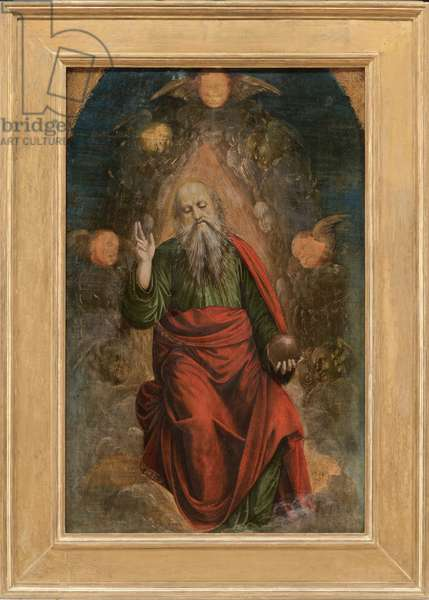 God the Father Blessing, 1508-09 (tempera on board)