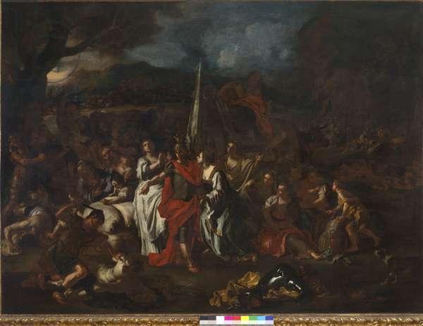David Defeator of the Amalekites, 1720-21 (oil on canvas)