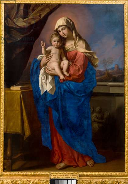 Our Lady of the Blessing, 1651 (oil on canvas)