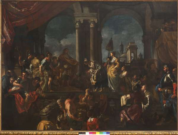 The Queen of Sheba, 1720-21 (oil on canvas)
