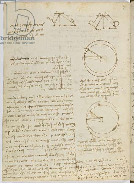 Birds Flight Code, c. 1505-06, paper manuscript, cc. 18, sheet 3 to