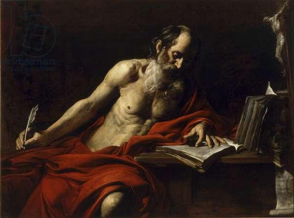 St Jerome, 1618-1622 (oil on canvas)