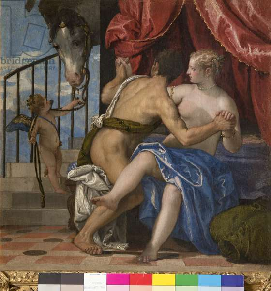Venus and Mars, c.1575-80 (oil on canvas)