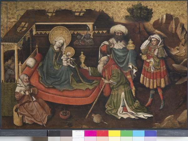 Adoration of the Magi, 1430-35 (oil on panel)