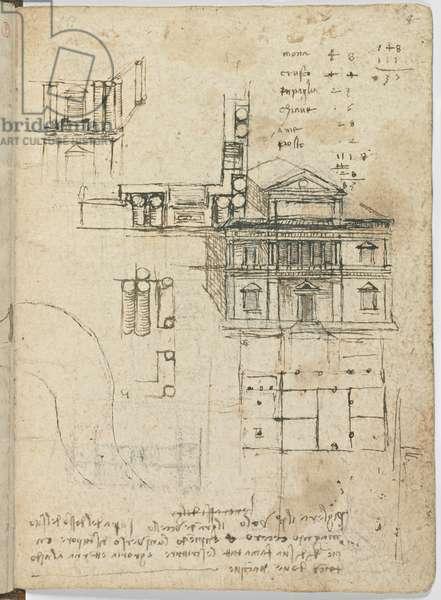 Bird Flight Code, c. 1505-06, paper manuscript, cc. 18, Cover III